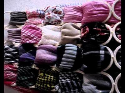 ♥Petición mi organizador de pañuelos lleno!!♡.wmv