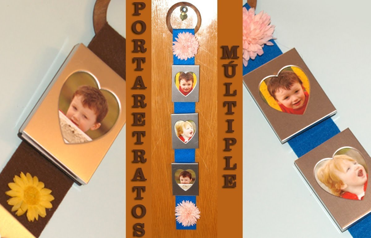 Portarretratos Múltiple - DIY - Multiple Photo Frame
