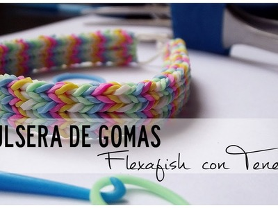 Tutorial | Pulsera de gomitas Flexafish CON TENEDOR