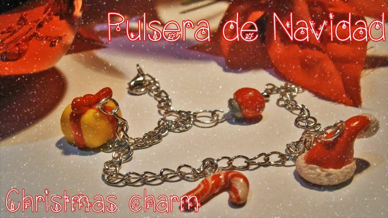 Tutorial : Pulsera de Navidad. Christmas Bracelet Tutorial