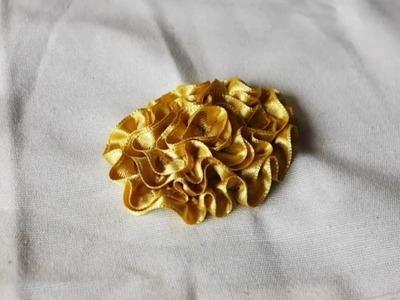 39 Flor con cinta de raso