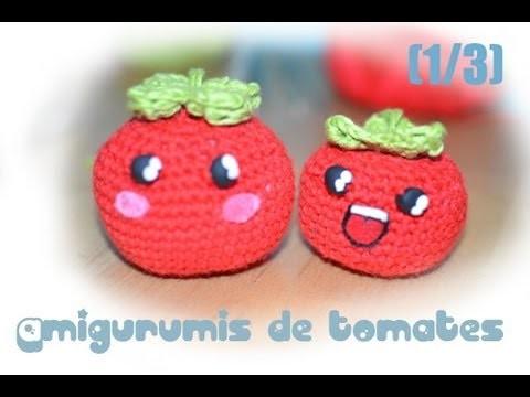 Amigurumi de un tomate (1.3)