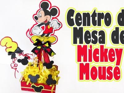 Centro de Mesa de Mickey Mouse Tutorial para fiestas -Los290ss