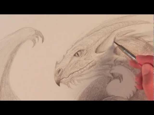 Cómo dibujar un dragón - Arte Divierte.