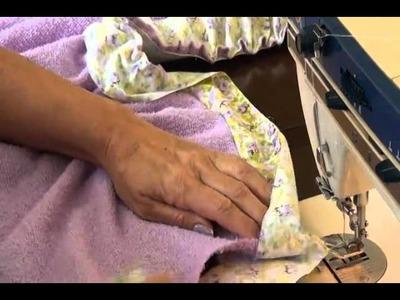 Como hacer en casa una levantadora de toalla
