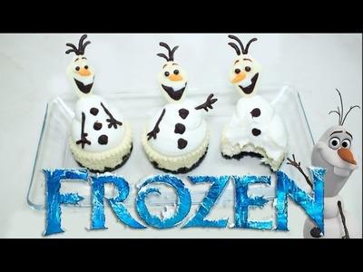 ➪ ¿Como Hacer Mini Cheesecakes? ❅ FROZEN ❆ Olaf ❄︎ - Miranda Ibañez