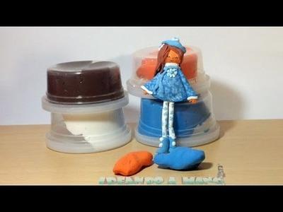 Cómo hacer muñecas con los peques