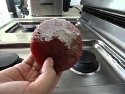 Como quitar la grasa de las estufas de ACERO INOXIDABLE!!!!!
