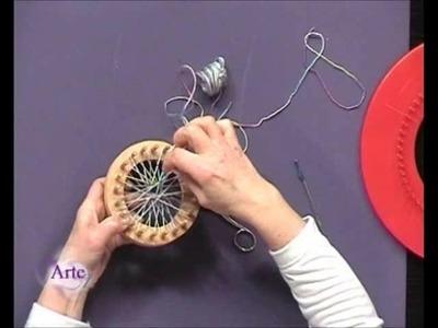 Cómo tejer un chaleco con telares circulares