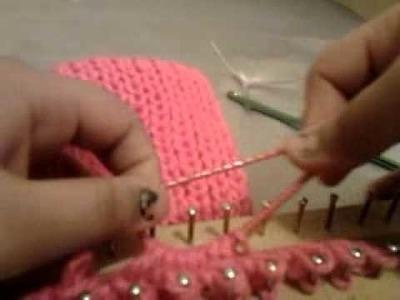 Como tejer una diadema en el telar