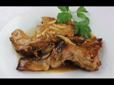 Conejo en salsa | Las Recetas de Pepa
