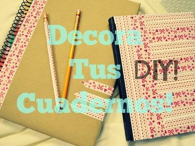 Decora tus Cuadernos y Lápices-DIY.Mon♥