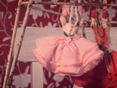 Día de amigas Express - Como hacer vestidos en papel