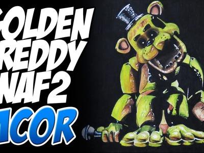Dibujando al Golden Freddy - Five Nights at Freddy's 2