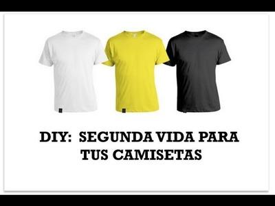 DIY customiza camisetas