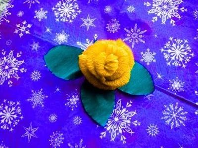 Flores hechas de papel. Parte 2.