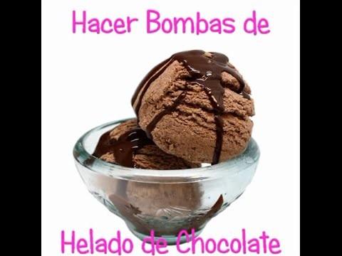 Hacer Bombas de baño de chocolate.
