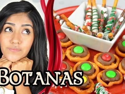 HAZ BOTANAS NAVIDEÑAS CON CHOCOLATE | MUSAS