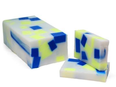 Jabón en barra de colores