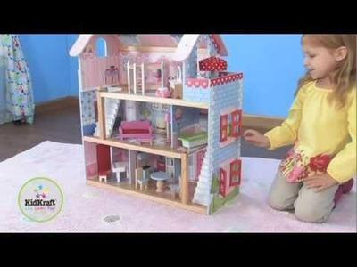 Juegos de casitas de muñecas modelo Chelsea. Juegos de casitas de muñecas KidKraft en EurekaKids