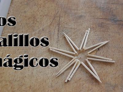 Los palillos mágicos (Experimentos Caseros)