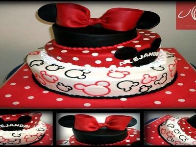 Manualidades Minnie Mouse de Porcelana Fría