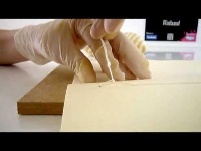Materiart - Cosido de libros 1ª Parte