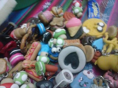 -Mi Coleccion De Figuras Con Porcelana fria :3