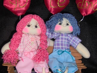 Muñecos Soft. pareja san valentín 1.3 proyecto13