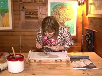 Nota de Decoración - Técnica Batik - Pintura en Batik