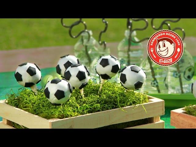 Receta de Cake Pops de Fútbol con El Guzii - Presentado por los fabricantes de ZYRTEC®
