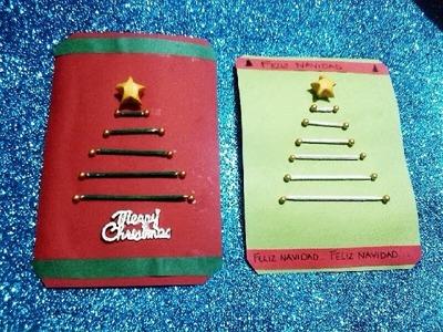 Tarjetas de navidad (facil)