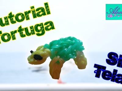 ♥ Tutorial: Tortuga de gomitas (sin telar) ♥