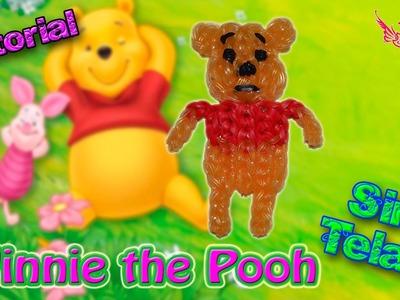 ♥ Tutorial: Winnie the Pooh de gomitas (sin telar) ♥