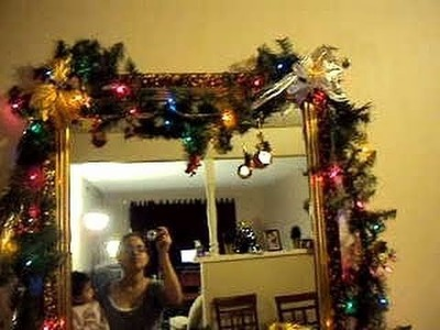 Adornos, Decoraciones Navideñas: Como adornar guirnaldas Navideñas.