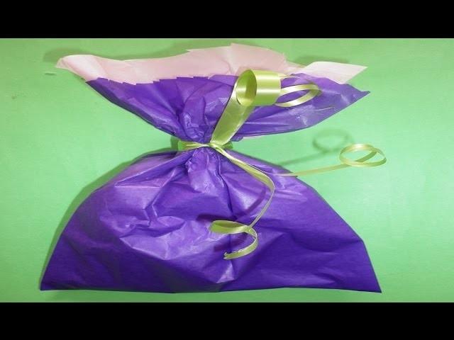 Bolsa de Papel Seda para Empacar Regalos Pequeños- Tissue Paper Bag