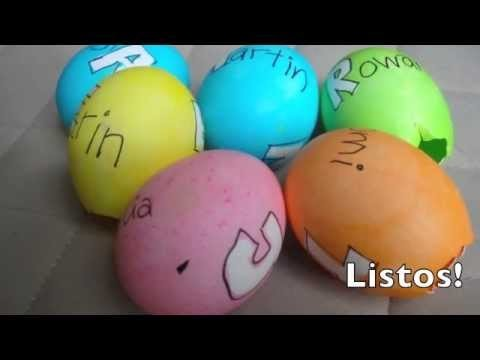 Cómo decorar huevos de pascua