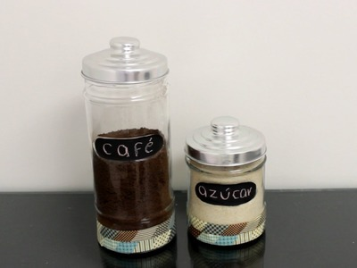 Como hacer frascos para cocina. Organiza y decora tu Cocina - Hablobajito