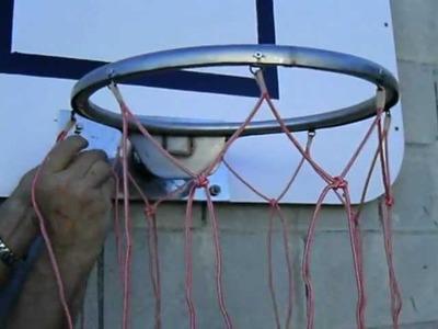 Cómo hacer la red de una canasta de baloncesto, (8.9) La red