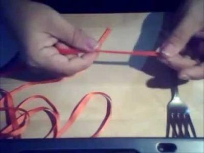 Como hacer Lazo para adornar cajas de regalos