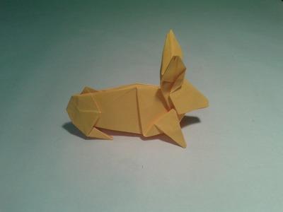 Como hacer un conejo de origami