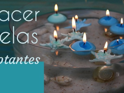 Cómo hacer velas flotantes: Idea para crear un centro de mesa original para decorar el salón de casa