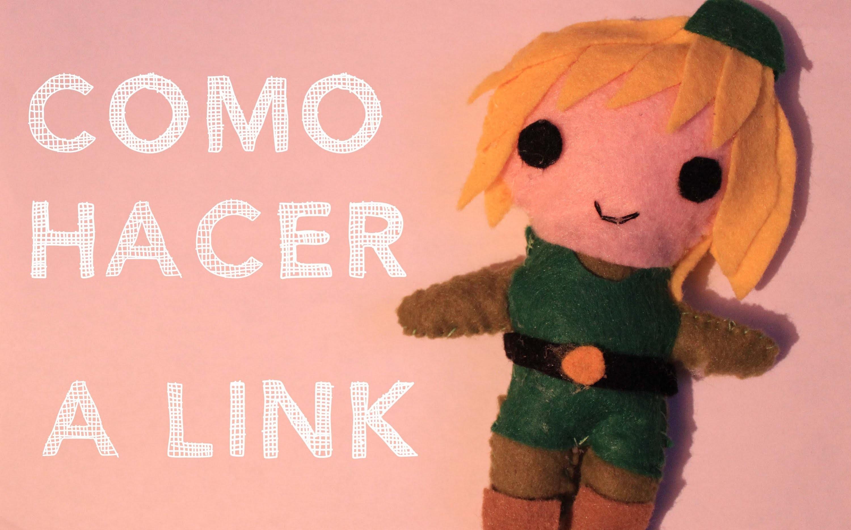 #comohacer #4 link (the legend of zelda) en peluche tierno.
