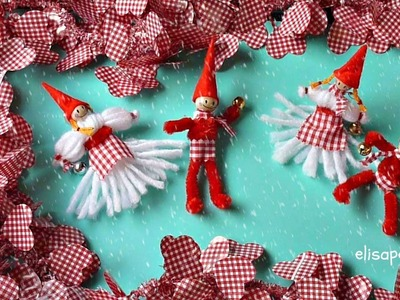 DIY, Cómo hacer Duendes para Navidad, Nordic Christmas goblin