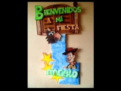 Letreros de Bienvenidos a mi Fiesta - Programa 20 -  parte 1.3