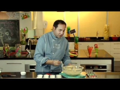 Recetas Nestlé: Cup Cake de Plátanos Glaseados
