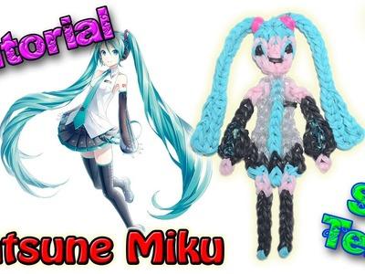 ♥ Tutorial: Hatsune Miku de gomitas (sin telar) ♥