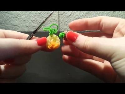 ♥ ♥ TUTORIAL: Mini piña y Mini ciruela frutitas de gomitas ♥ ♥