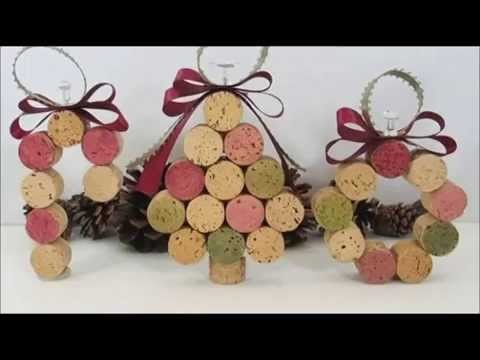 1000 ideas para hacer adornos navideños reciclados