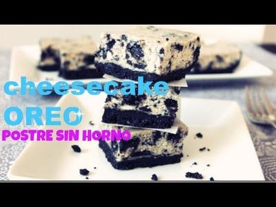 Cheesecake OREO! Delicioso- SIN HORNO ♥Angy